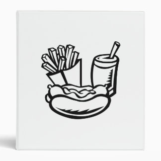 Hot Dog and Fries Binders