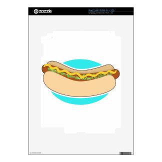 Hot Dog and Relish iPad 2 Skin