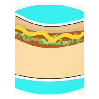 Hot Dog and Relish Letterhead