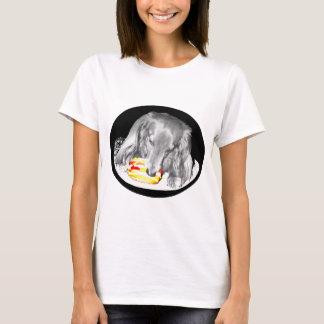 Hot Dog Attacks Cheeseburger T-Shirt