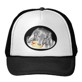 Hot Dog Attacks Cheeseburger Trucker Hat