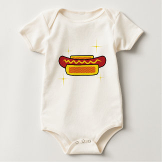 Hot Dog Baby Bodysuit
