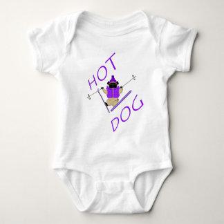 Hot Dog Baby Bodysuit