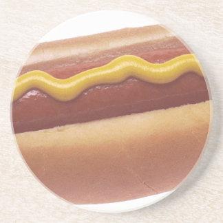 Hot Dog Beverage Coaster