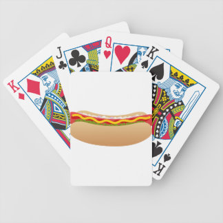 Hot Dog Bicycle Playing Cards