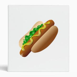 Hot Dog Vinyl Binders
