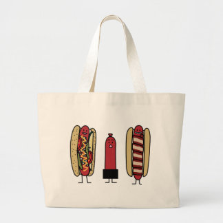 Hot Dog Bros Canvas Bags