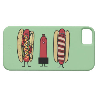 Hot dog bros. Chicago style Bacon wrapped wiener iPhone SE/5/5s Case