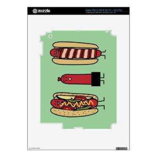 Hot Dog Bros Skin For iPad 3