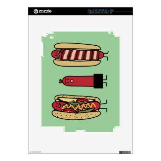 Hot Dog Bros Skins For iPad 2
