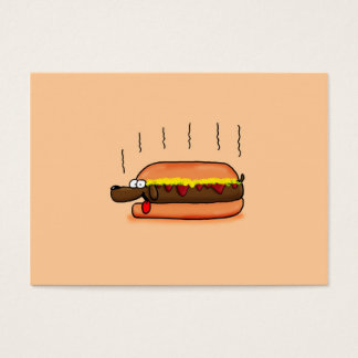 Hot Dog Business Card