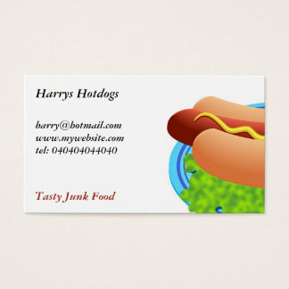 Hot Dog Business Card