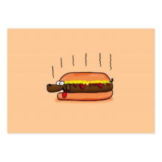 Hot Dog Business Card Templates