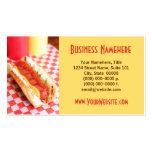 Hot Dog Business Cards