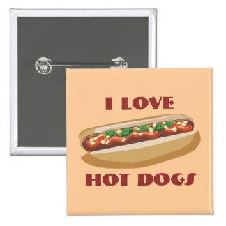 Hot Dog Button