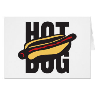 hot dog 🌭 card