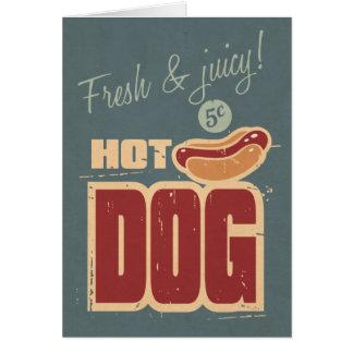 Hot Dog Card