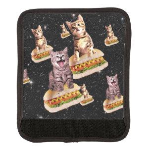 hot dog cat invasion handle wrap
