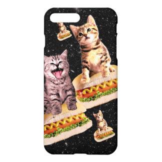 hot dog cat invasion iPhone 8 plus/7 plus case