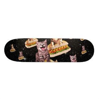 hot dog cat invasion skateboard