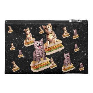 hot dog cat invasion travel accessory bag