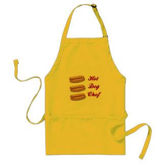 Hot Dog Chef Adult Apron
