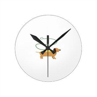 Hot Dog Clocks