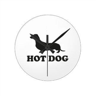 HOT DOG CLOCK