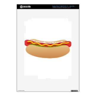 Hot Dog Decal For iPad 3