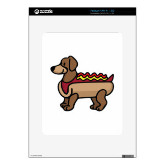Hot Dog Decals For iPad