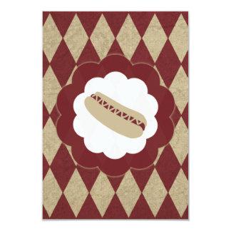 hot dog diamonds card