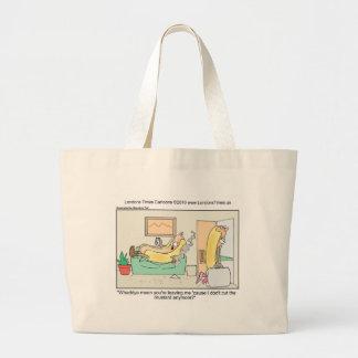 Hot Dog Divorces Funny Tees Mugs & Gifts Large Tote Bag