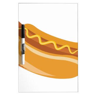 Hot Dog Dry Erase Board