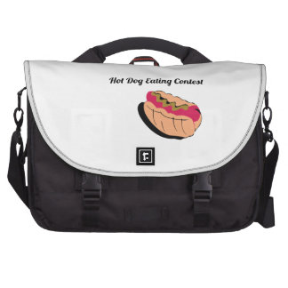 Hot Dog Eating Contest Computer Bag