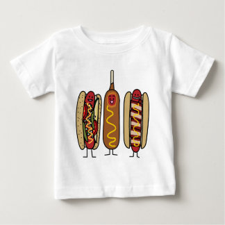 Hot Dog Friends Baby T-Shirt