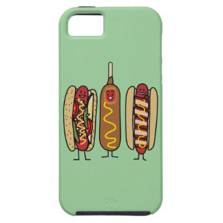 Hot Dog Friends iPhone SE/5/5s Case