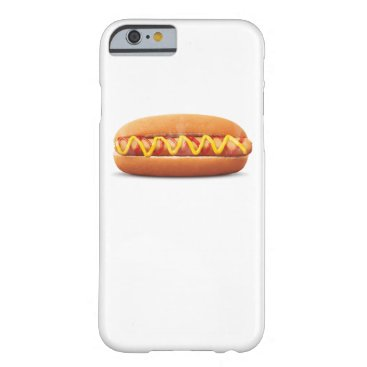 Halloween Themed hot dog Funny Halloween costume matching couples Barely There iPhone 6 Case