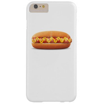 Halloween Themed hot dog Funny Halloween costume matching couples Barely There iPhone 6 Plus Case