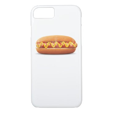 Halloween Themed hot dog Funny Halloween costume matching couples iPhone 8/7 Case