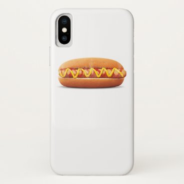 Halloween Themed hot dog Funny Halloween costume matching couples iPhone X Case