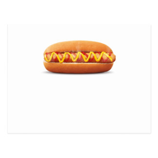 hot dog Funny Halloween costume matching couples Postcard