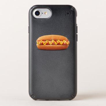 Halloween Themed hot dog Funny Halloween costume matching couples Speck iPhone Case