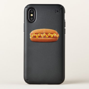 Halloween Themed hot dog Funny Halloween costume matching couples Speck iPhone X Case