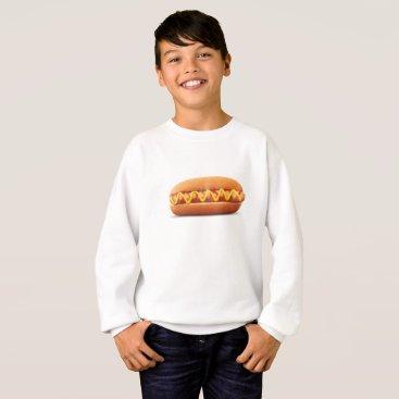 Halloween Themed hot dog Funny Halloween costume matching couples Sweatshirt