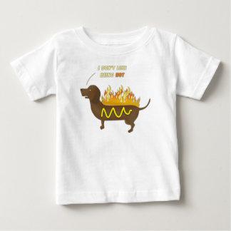 Hot Dog Funny Joke Slogan Baby T-Shirt
