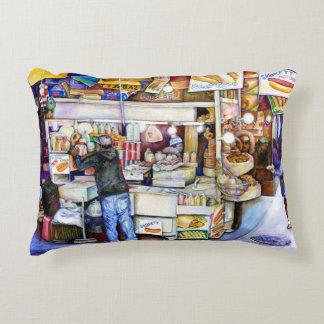 Hot Dog God, New York Accent Pillow