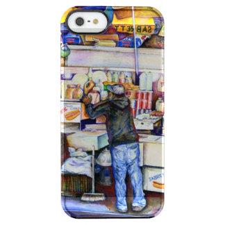 Hot Dog God, New York City Clear iPhone SE/5/5s Case