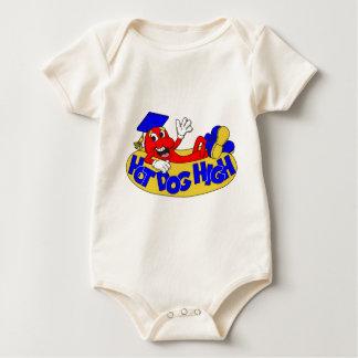 Hot Dog High Baby Bodysuit