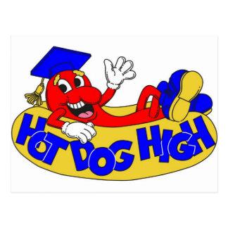 Hot Dog High Postcard