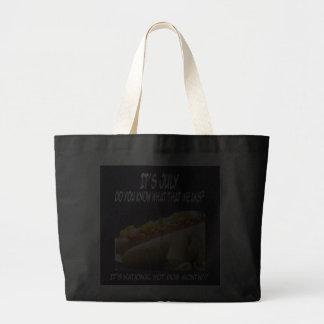 Hot Dog Holiday Tote Bag
